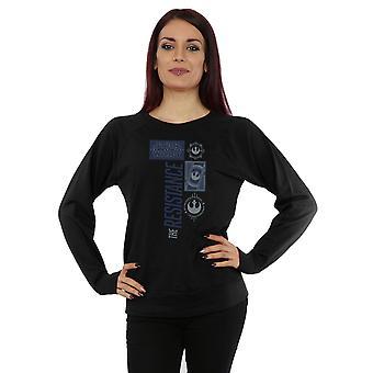 Star Wars Womens siste Jedi motstand Sweatshirt