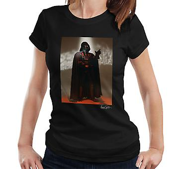 Star Wars Behind The Scenes Darth Vader Women's T-Shirt