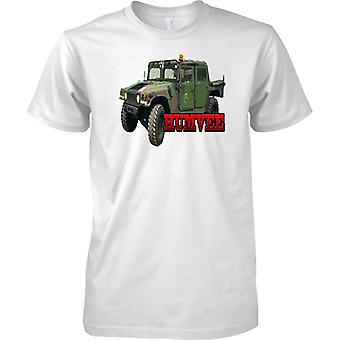Humvee - amerikanske hær pansrede køretøj - Kids T Shirt