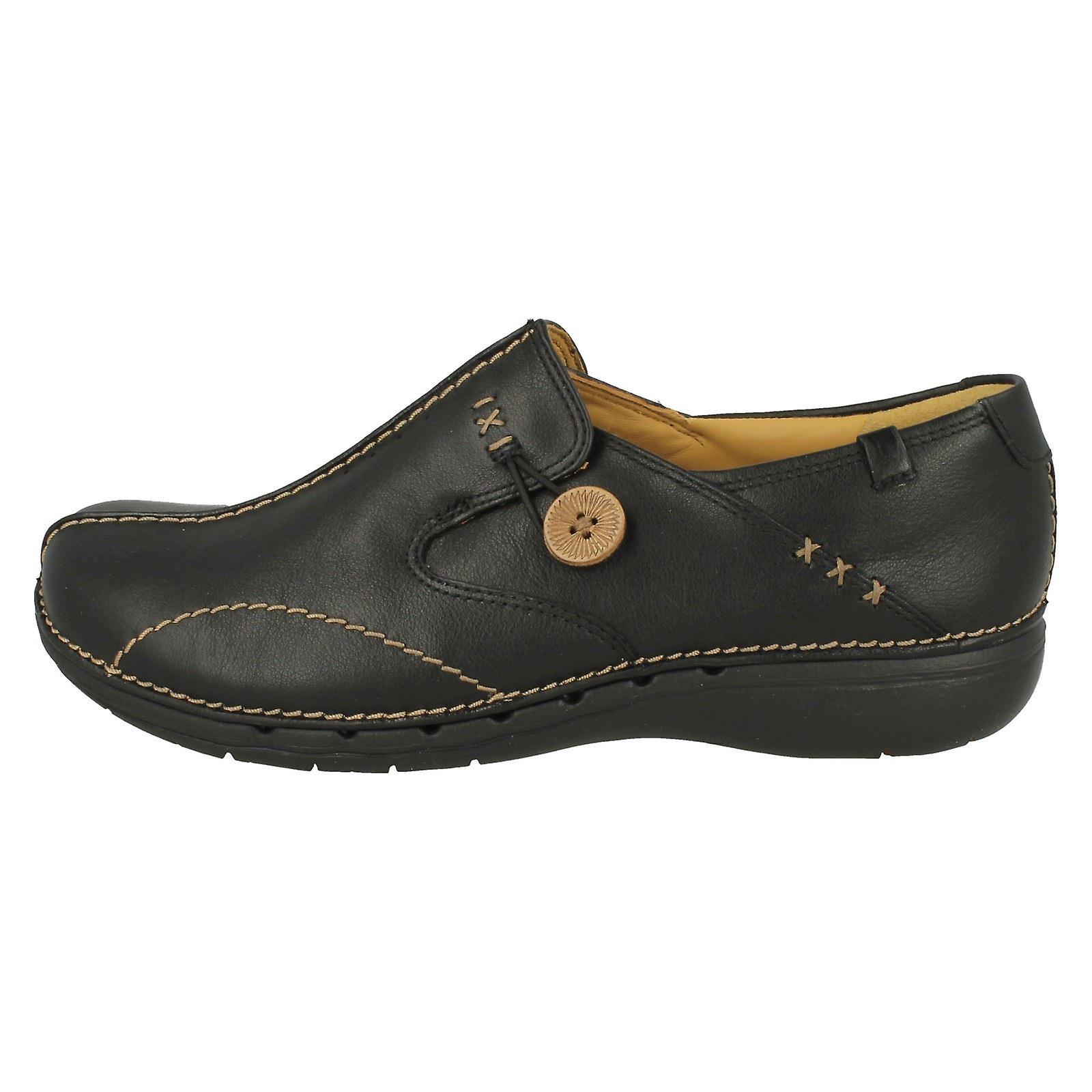 Damen Clarks Un strukturiert Slip-on Schuhe Un Loop