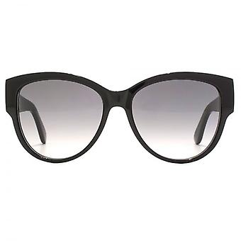 Saint Laurent SL M3 Cateye Sunglasses In Black