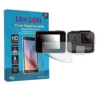 GoPro Hero 5 Screen Protector - Mikvon Armor Screen Protector (Retail Package with accessories)
