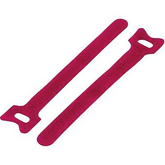 Hook-and-loop cable tie for bundling Hook and loop pad (L x W) 150 mm x 10 mm
