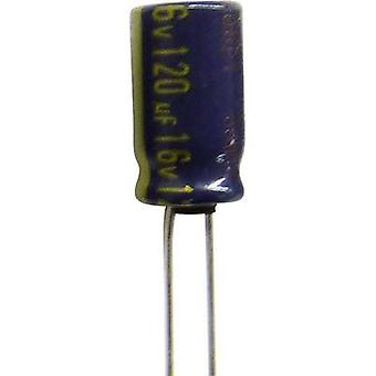 Electrolytic capacitor Radial lead 3.5 mm 1200 µF
