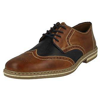Mens Rieker Lace Up Brogue Shoes B14B8