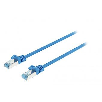 ValueLine CAT6a S/FTP network cable RJ45 (8P8C) male to RJ45 (8P8C) Male 10.00 m blue