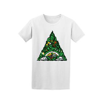 St Patrick's Day Triangle Doodle Tee - Image by Shutterstock