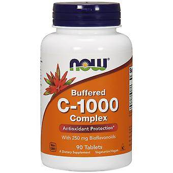 Now Foods Vitamin C 1000 Complex Buffered with 250 mg Bioflavonoids 90 tabs