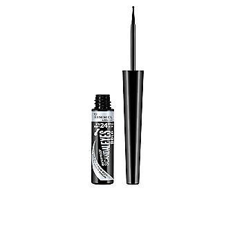 Rimmel London Scandaleyes Bold Liquid Eye Liner #001 -black For Women
