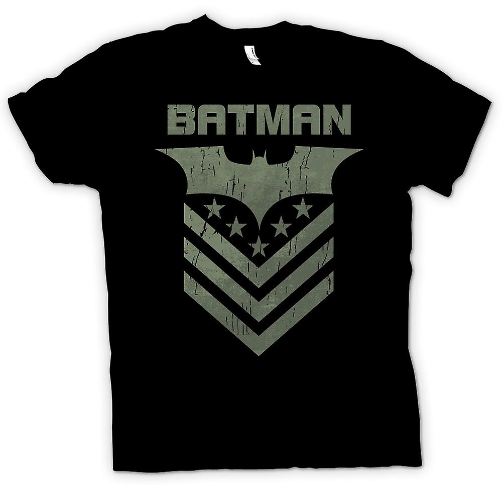 Womens T-shirt - Batman Dark Knight Stars And Stripes
