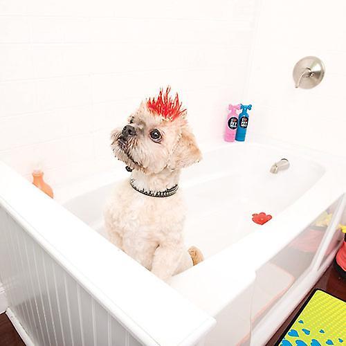 Huisdier hoofd witte partij heldermakende Shampoo hond