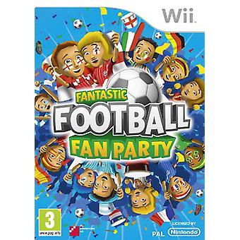 Fantastisch voetbal Fan partij (Wii)