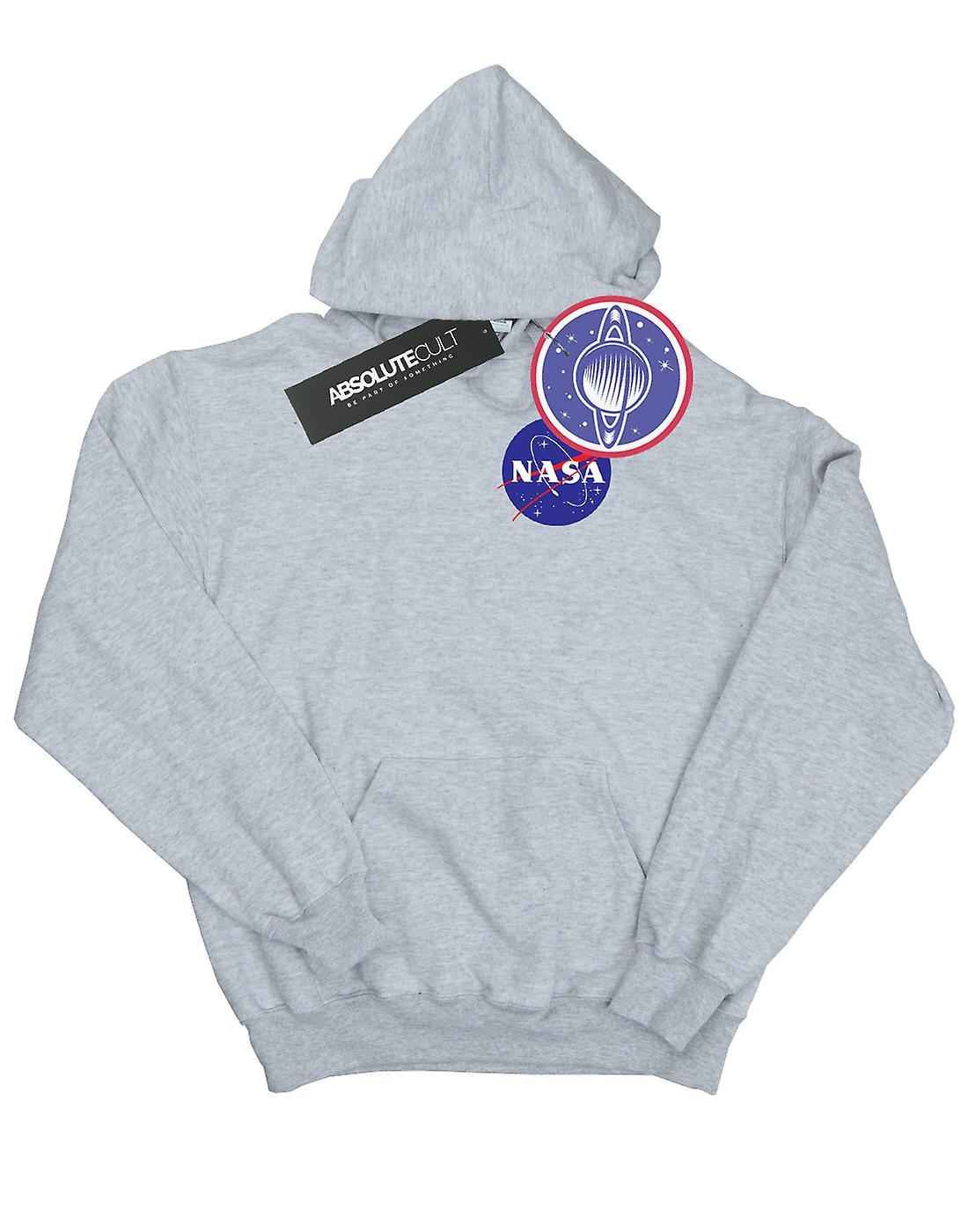NASA drenge klassiske insignier brystet Logo hættetrøje