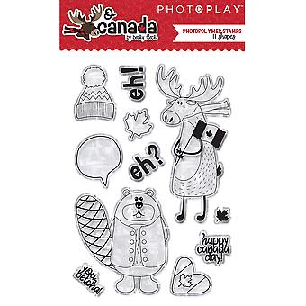 Photoplay Photopolymer Stamp-O Canada