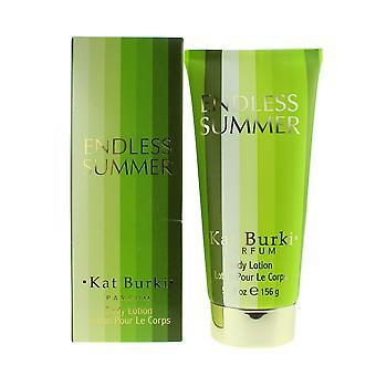 Kat Burki 'Endless Summer' Parfume Body Lotion 5.5oz/156g New In Box