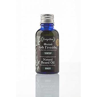 Natural beard oil ginger moisturizing, soothing.