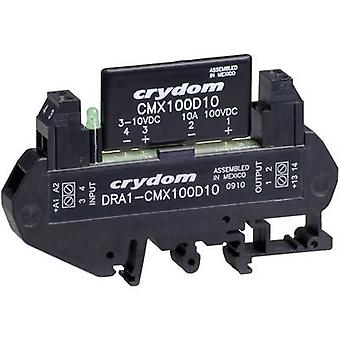 Crydom DRA1-CMX60D10 DIN Rail Mount Solid State Relay, DC