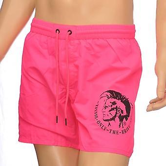DIESEL BMBX Wave E Mohawk Swim Shorts, Pink, X Large