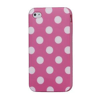 Schutzhülle für Handy iPhone 4 / 4s Rosa