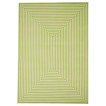 Outdoor carpet for Terrace / balcony green Vitaminic braid Green 160 / 230 cm carpet indoor / outdoor - for indoors and outdoors