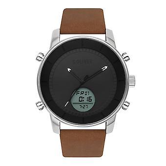 couro de relógio de pulso relógio s.Oliver masculino SO-3619-LQ