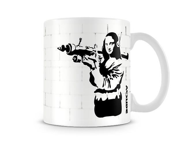 Mug Mona Bazooka Mona Bazooka Lisa Banksy Banksy Lisa Mona Mug Banksy VMpzUS