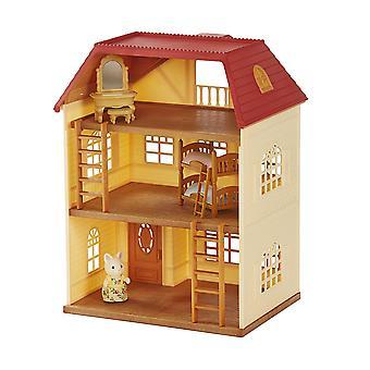 Ensemble-cadeau de familles sylvanian Cedar Terrace