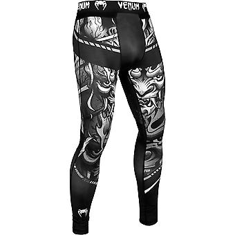 Venum Devil MMA Compression Spats - White/Black