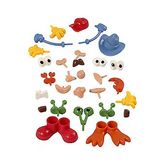 26 Assorted Body Parts for Soft & Self Hardening Clay - Kids Crafts