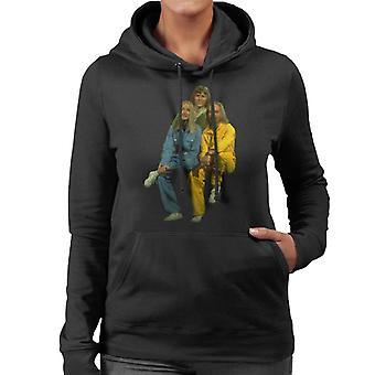 TV Times Rainbow Music Trio Women's Hooded Sweatshirt