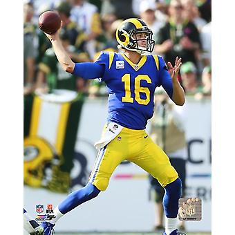 Jared Goff 2018 Action Photo Print