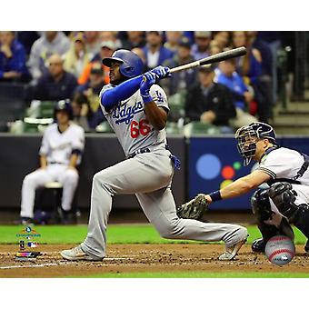 Yasiel Puig Three-run Home Run Game 7 of the 2018 National League Championship Series Photo Print