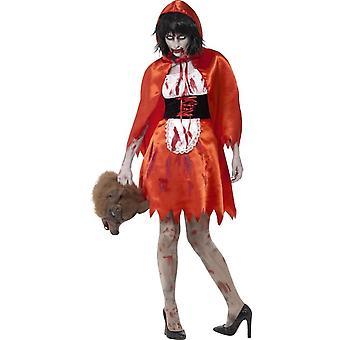 Zombie Little Miss Hood Costume, Medium