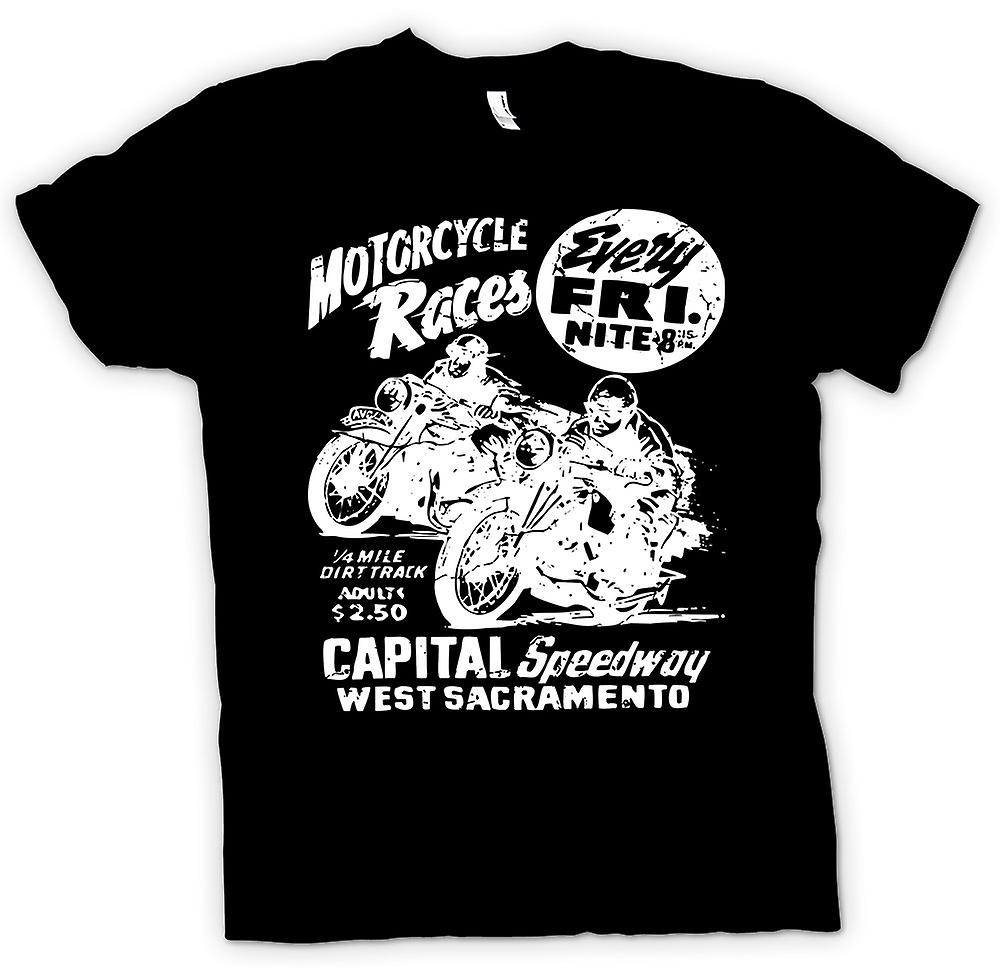Kids T-shirt - Classic Bike Motorcycle Race