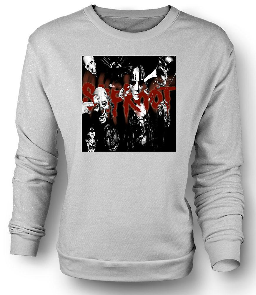 Mens Sweatshirt Slipknot - Heavy Metal Band