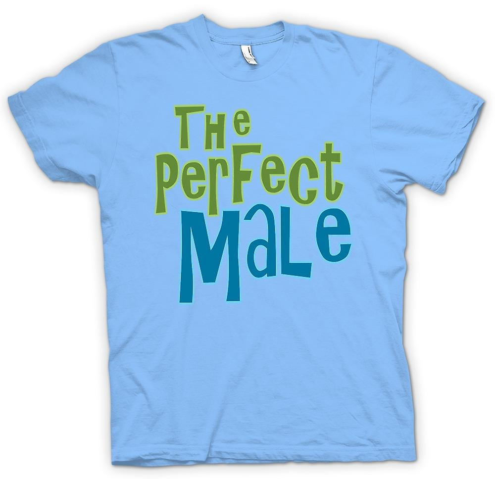 Heren T-shirt - de perfecte man - Funny
