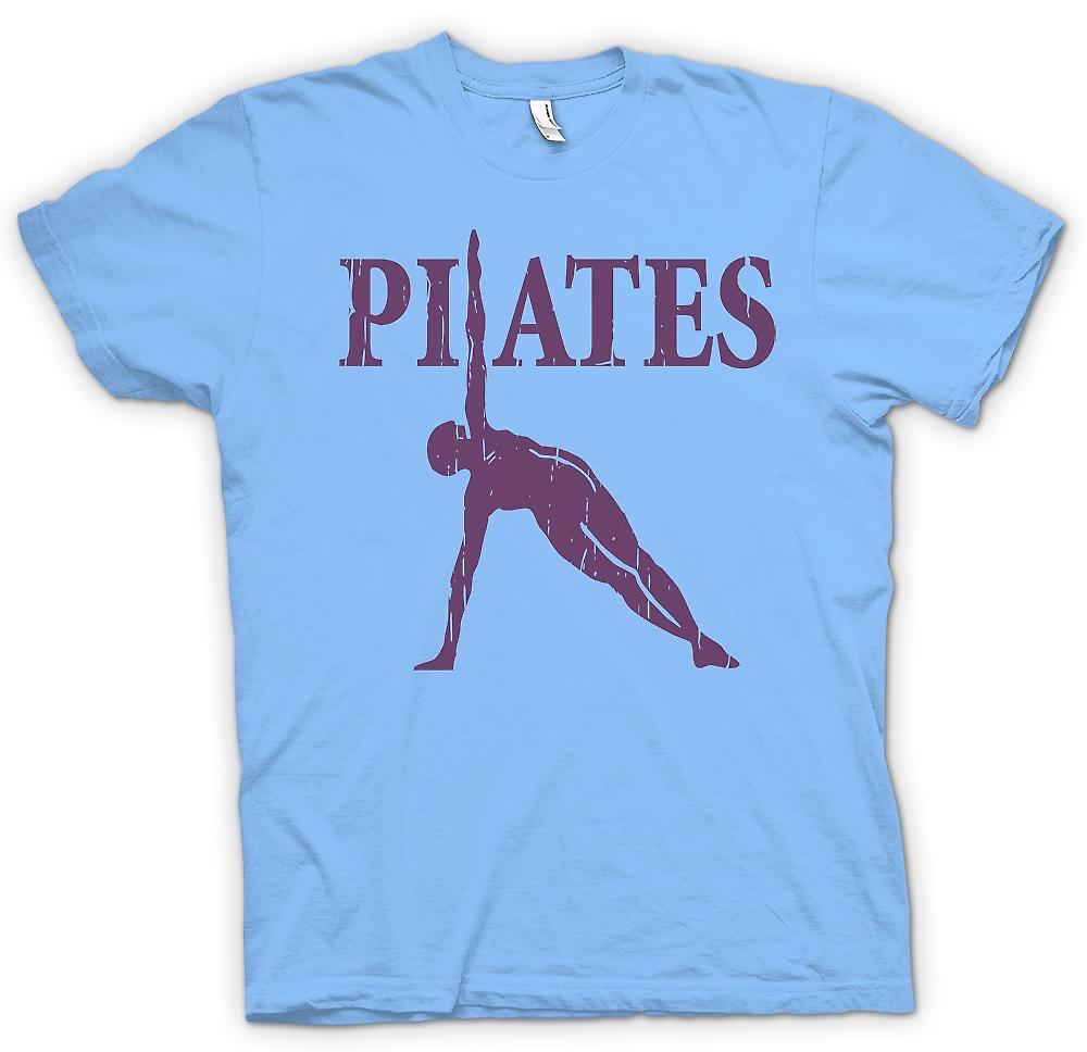 Heren T-shirt - Pilates - Core fitnesstraining
