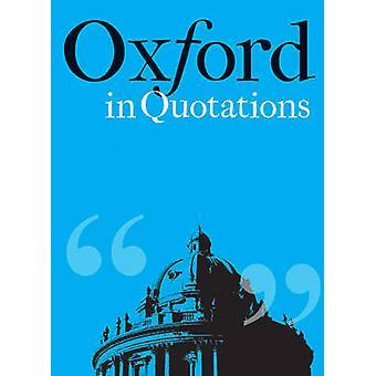 Oxford dans citations par Violet Moller - livre 9781851244003