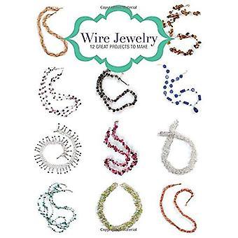 Wire Jewelry: 12 grote projecten te maken