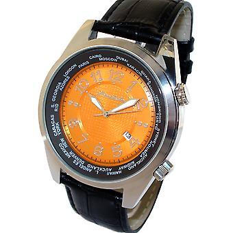HEINRICHSSOHN Danzig oranje HS1003O Mens Watch