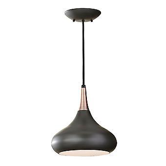 Beso mörk brons kupol tak hänge - Elstead belysning Fe / Beso / P / M DBZ