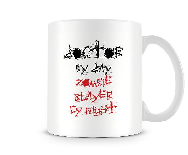 Doctor By Day Zombie Slayer Night Mug