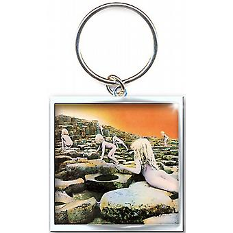 Led Zeppelin Houses Of the Holy metal keyring (ro)
