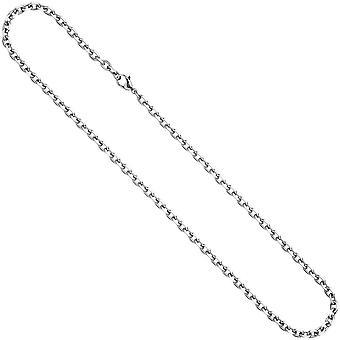 Kotwica łańcucha ze stali nierdzewnej 4.3 mm 60 cm naszyjnik łańcuch karabińczykiem