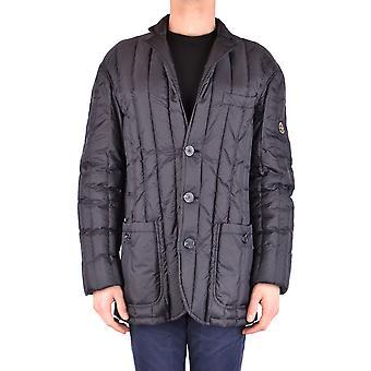 Armani Jeans Black Nylon Outerwear Jacket