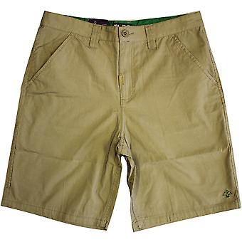 Lrg RC Marauder Mens Chino Walk shorts British khaki