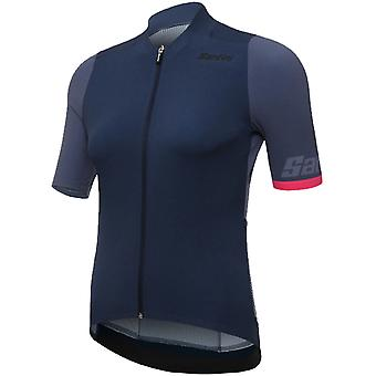 Santini Nautica Blue 2019 Genio Womens Short Sleeved Cycling Jersey