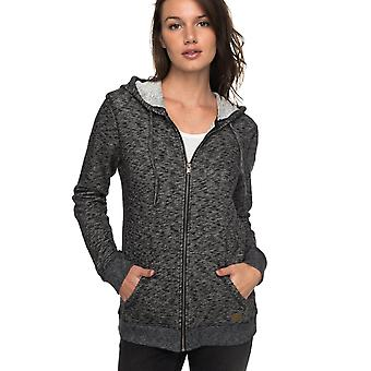 Roxy Womens Trippin Zip Up Hoodie - Anthracite Heather