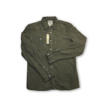 Diesel 'Scheccy' Sli Fit shirt in yellow checked pattern