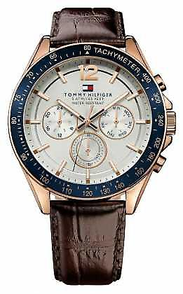 Tommy Hilfiger Gent's Baron Rose Tone 1791118 Watch
